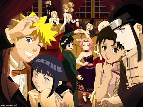 pictures of naruto characters. the Naruto characters who